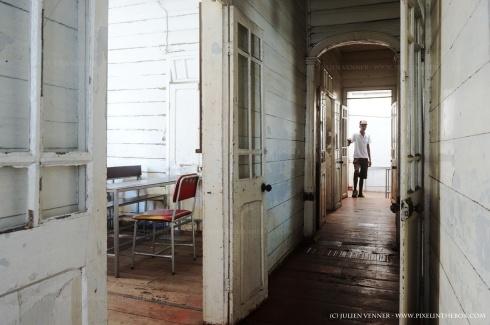 Ecole coloniale à Rose Hill